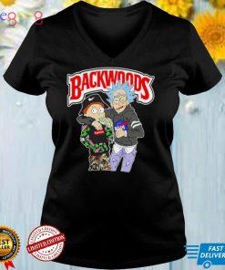 Rick and Morty Backwoods shirt