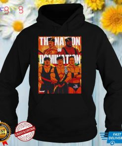 The Nation Of Domination Pro Wrestling shirt