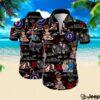 The who all over printed hawaiian shirt