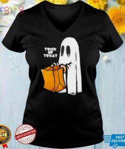 Treat or trick happy Halloween shirt