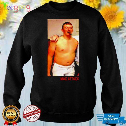 Best mac Jones smoking cigar Mac attack shirt