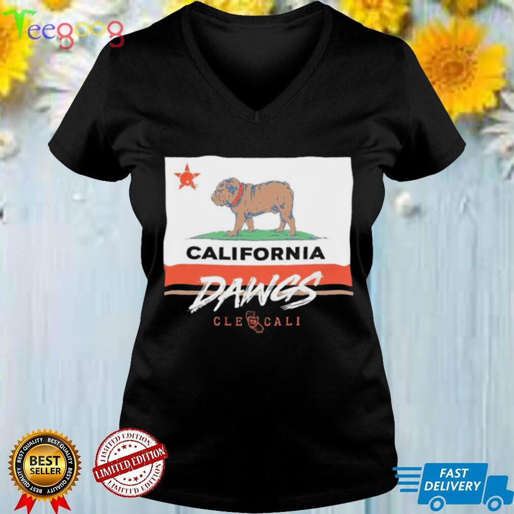 California Dawgs Backers Cleveland to Cali shirt