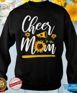Cheerleading Mom Sunflower Cheer Mom Shirt