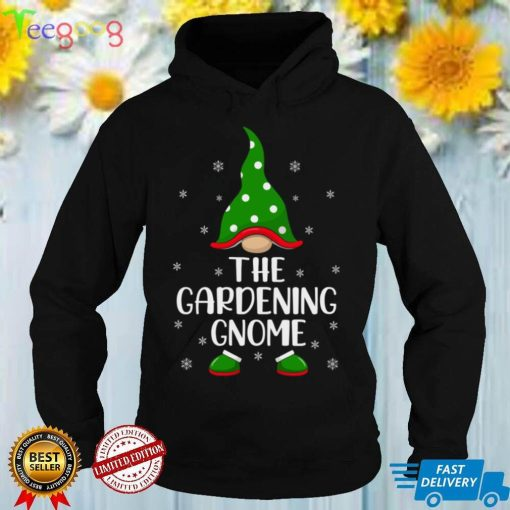 Funny Matching Family The Gardening Gnome Christmas Sweatshirt