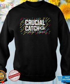 Green Bay Packers 2021 Crucial Catch Intercept Cancer T Shirt