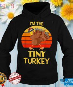 Iam The Tiny Turkey Thanksgiving Shirt For Little Bro Sister T Shirt 1