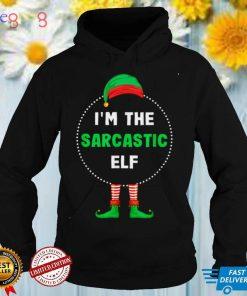 Im The Sarcastic Elf Christmas T Shirt