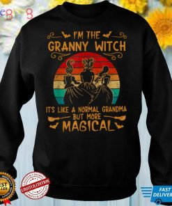 I'm the Granny witch its like a normal Grandma T Shirt