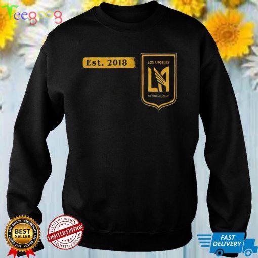 LAFC Los Angeles football club est 2018 shirt