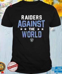 Las Vegas Raiders NFL Against The World shirt