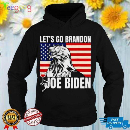 Lets go brandon flag eagle shirt