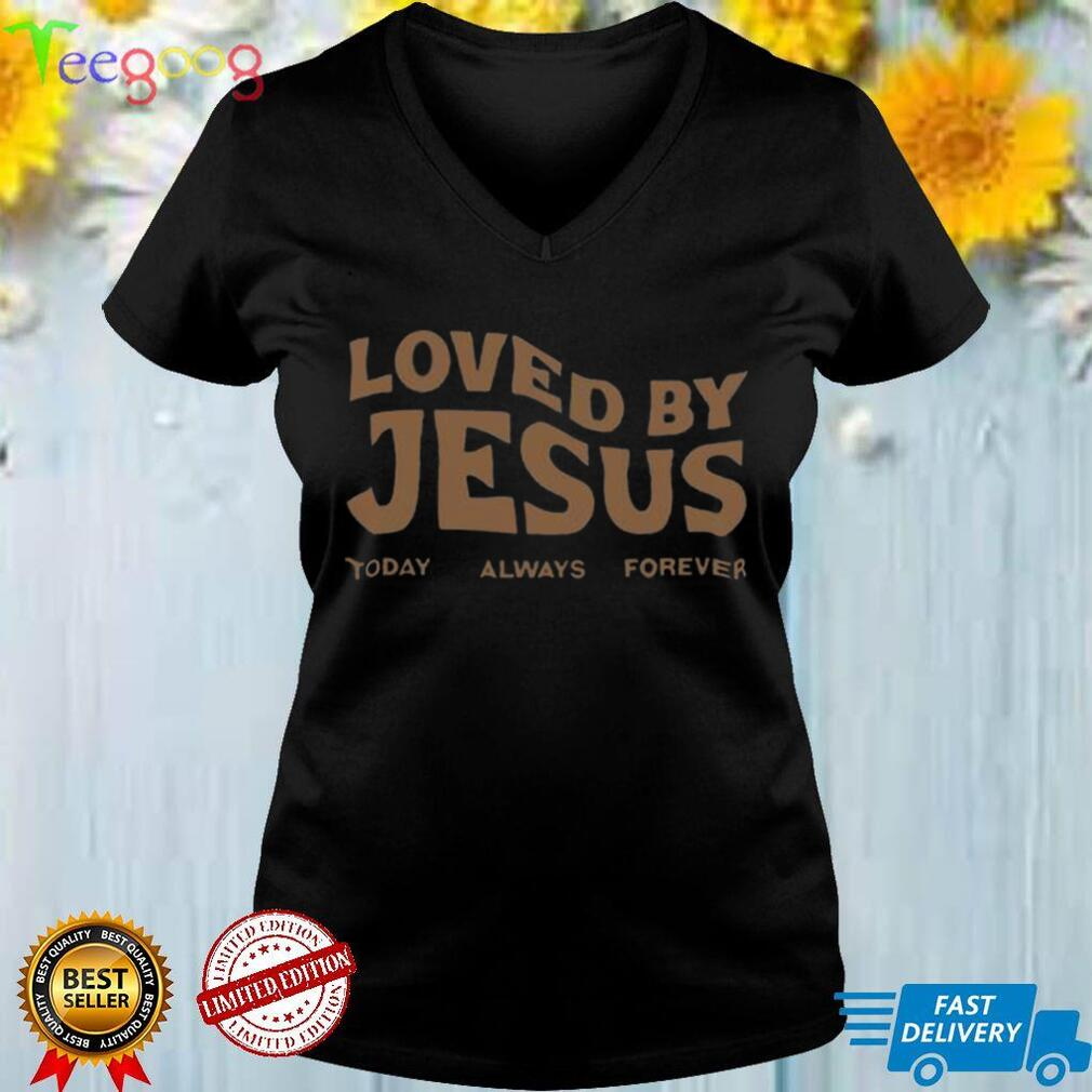 Loved By Jesus Christian Streetwear Provision Of Grace Shirt