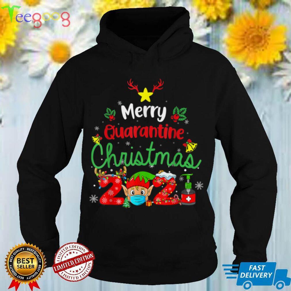 Merry Christmas 2021 Reindeer Funny Pajamas Family Xmas T Shirt (2)