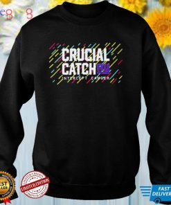 New York Giants 2021 Crucial Catch Intercept Cancer T Shirt
