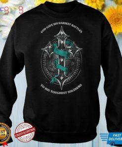 PTSD Awareness Toughest Soldiers Long Sleeve T Shirt