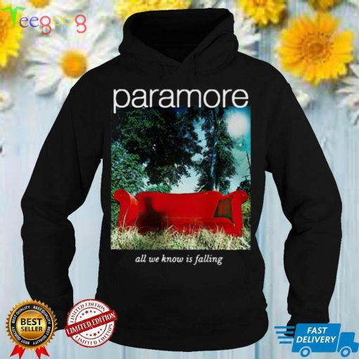 Paramore Merch All We Know Is Falling T shirt