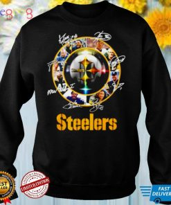 Pittsburgh Steelers players signatures shirt