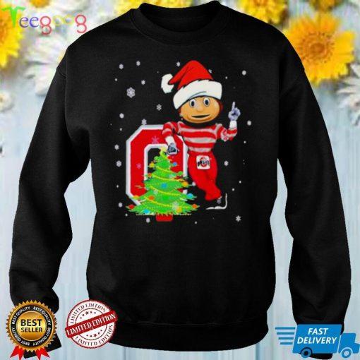 Q Santa Claus Merry Christmas Tree Shirt
