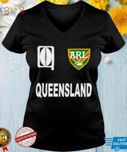 Queensland State of Origin ARL logo shirt