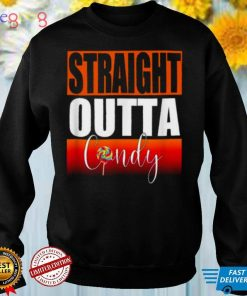 Straight outta candy funny halloween Trick or Treat costume T Shirt
