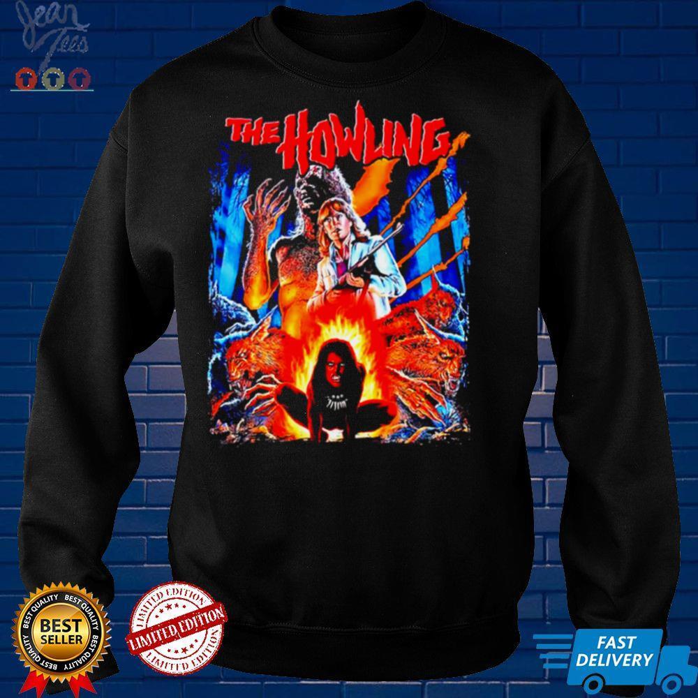 The Howling Werewolf movie poster shirt