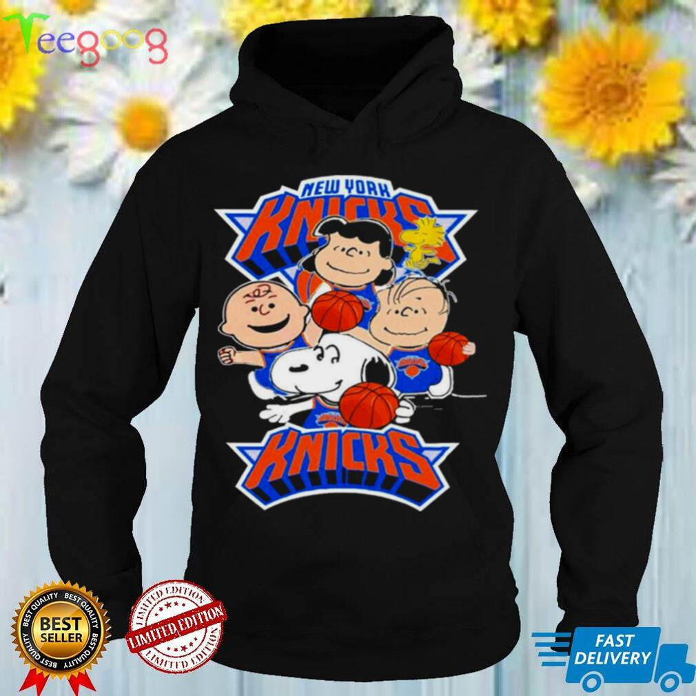 The Peanuts New York Knicks new york knicks shirt
