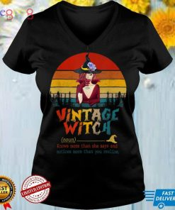 Vintage Witch Spooky Witch Drink In Halloween T Shirt