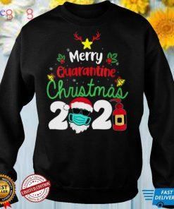 Womens Merry Christmas 2021 Reindeer Funny Pajamas Family Xmas V Neck T Shirt