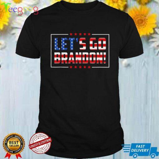 lets Go Brandon Joe Biden Chant Impeach Biden Costume Flag shirt