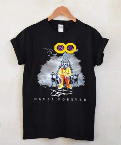 Mamba Forever Number 24 Signature shirt