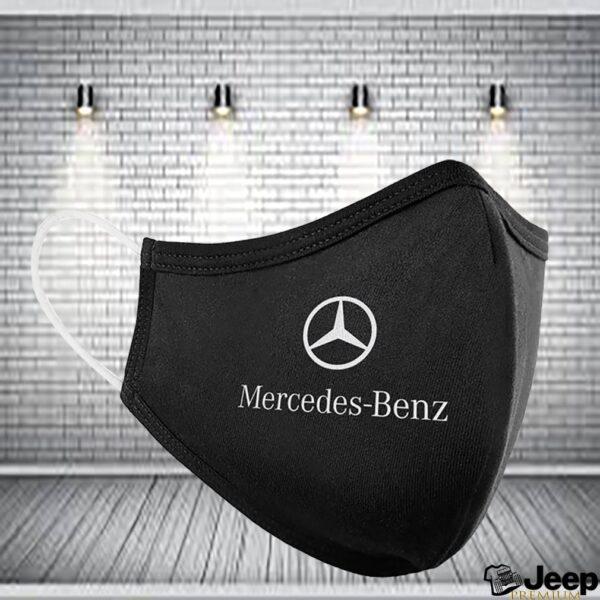 Mercedes Benz AMG Logo Embroidered Washable Face Mask