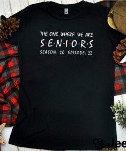 The one where we are seniors season 20 episode 22 shirt 8