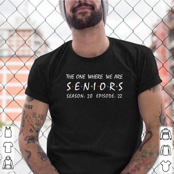 The one where we are seniors season 20 episode 22 shirt 5