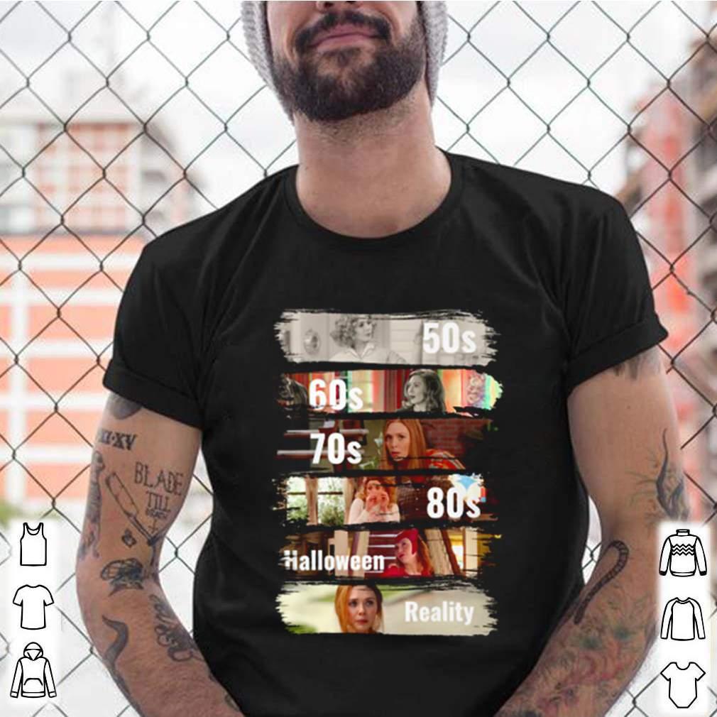 Wanda Maximoff 50s 60s 70s halloween reality shirt 14